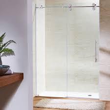 interior clear glass door. Survival Vigo Sliding Shower Doors Pirouette 48 Inch Frameless Door 3 8 Clear Glass Oil Home Interior: Interior