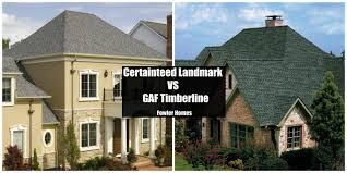 Gaf Timberline Hd Color Chart Gaf Timberline Shingles Vs Certainteed Landmark Roofer In