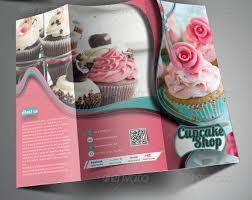 Cupcake Brochure Design 25 Ice Cream And Cupcake Shop Brochure