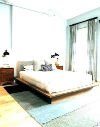 Full Size Wood Bed Frame Light Wood Bed Frame Wooden Full Bed Frames ...