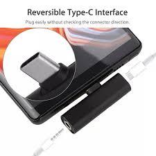 Bộ Chuyển Đổi Tai Nghe Type C Sang 3.5MM Bộ Chuyển Đổi Tai Nghe Cho Sony  Xperia 1 XZ4 XZ3 XZ2 Compact XZ2 Premium USB C