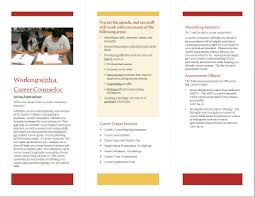 career pamphlets brochures working a career counselor 2