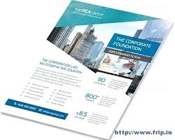 Corporate Flyers Template Business Brochure Vector Templates