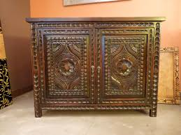custom spanish style furniture. Carved Custom Cabinets Furniture/vanity. Spanish Colonial Revival Style. Santa Fe, New Style Furniture U