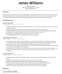 Technical Support Resume Technical Support Resume Sample ResumeLift 23