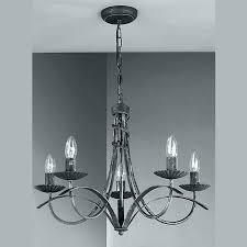 chandeliers real candle chandelier black radio cool pillar gray wall light hinging wax