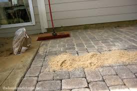 diy patio pavers paver patio diy patio