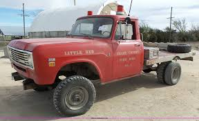 1975 International 200 flatbed pickup truck | Item J4222 | S...
