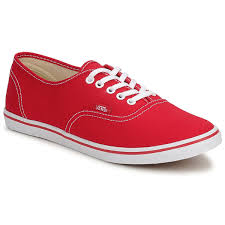 vans shoes red and white. cheap vans authentic lo pro low top shoes (red/true white) red and white