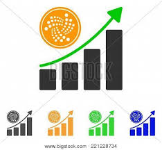 Iota Coin Growth Vector Photo Free Trial Bigstock