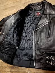british style black leather jacket
