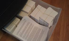 Make Index Cards Old Fashioned Index Cards The Junto