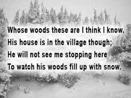 stopping by woods on a snowy evening analysis of the poem stopping by woods on a snowy evening analysis of first stanza