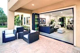 folding glass doors exterior cost large size of