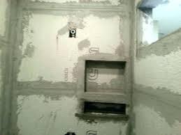 built in shower shelves bathroom shelf tile she wall porcelain shower shelf