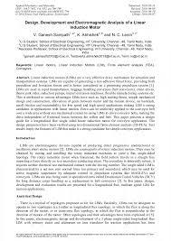 article preview article preview article preview linear induction motors