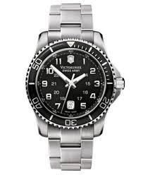 victorinox swiss army watch men s maverick gs stainless steel victorinox swiss army watch men s maverick gs stainless steel bracelet 241436 watches jewelry watches macy s