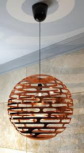 object copper modern light pendant