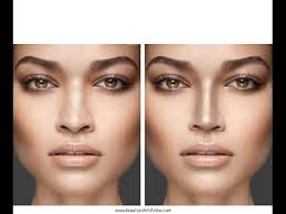 how to make your nose look thinner with makeup tips for smaller