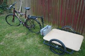 picture of bicycle cargo trailer