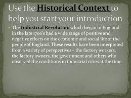 aim how do we write a dbq essay on the industrial revolution  industrial revolution dbq essay 17 use