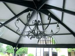 gazebo chandelier dining room mesmerizing beautiful battery operated inspire outdoor as well 19
