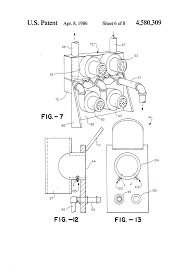 brevet us4580309 self contained multi function cleaning system patent drawing