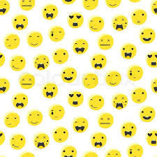 emoji background. Perfect Background Yellow Round Smile Emoji Seamless Pattern Emoticon Icon Flat Style Vector  Background Expression Comic Emoji Smiley Face Icons  Stock Vector Colourbox To Emoji Background N