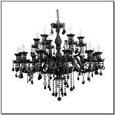 led chandelier lighting retro black crystal chandeliers e14 15 lights candle holders led luminaria kitchen hotel living room pendant lights vintage