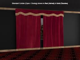 soundright open close curtains soundright home theater curtains home theater decor