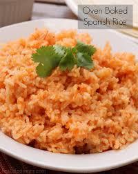 spanish rice. Interesting Rice OvenBakedSpanishRicejpg Inside Spanish Rice