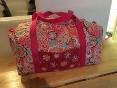Sewing: Vera Bradley -esque Duffel Bags | Pre quilted fabric ... & Duffle made with pre-quilted fabric. Intended for use as Lego storage on my Adamdwight.com