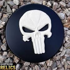 skull icon man cave decor relic