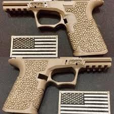 custom glock 19 gun art stippling custom framing pew pew frames