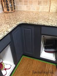 painting thermofoil cabinets. Painting Thermofoil Cabinets With Annie Sloan Part Farm Fresh Vintage Finds American Paint Company To