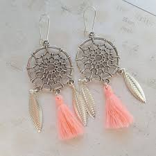 Dream Catcher Earrings Etsy