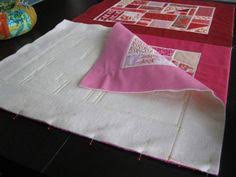 Quilt QAYG ...FUN and Done..using a tool called a Batting Buddy ... & Joining Blocks with Quilt As You Go Adamdwight.com