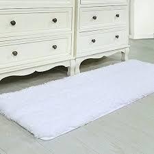 long bathroom rugs bathroom rug runner non slip microfiber extra long bath mat cozy soft