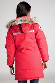 ... Lyst - Canada Goose Resolute Red Parka in Red ...