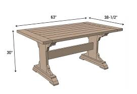 monastery dining table free diy plans rogue engineer