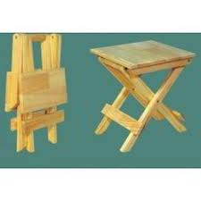 Wooden folding stool Portable Folding Wooden Tables And Stools Wooden Square Kids Table Manufacturer From Navi Mumbai Lelong Wooden Tables And Stools Wooden Square Kids Table Manufacturer