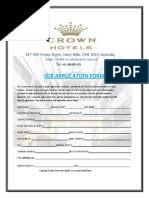 Surat konfirmasi bahasa inggris jujubandung. Crown Hotel Job Application Interview Form Pdf Information Science