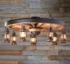 diy rustic chandelier large wagon wheel chandelier with rustic lanterns diy rustic wood chandelier