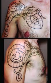Jormungand Pointillism By Jon Gamache Of Trademark Tattoo Sioux