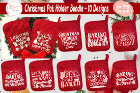 An animated loop will take. Christmas Pot Holder Bundle Svg Cut Files 855517 Cut Files Design Bundles