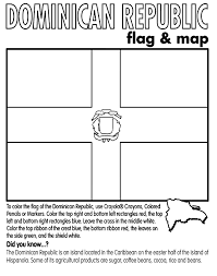 Map Of Dominican Republic Coloring Page Download Them And Print