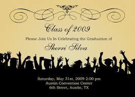 Graduation Invitation Templates Business Mentor