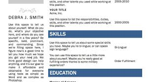 Blank Resume Templates For Microsoft Word Invoice Template Illustrator
