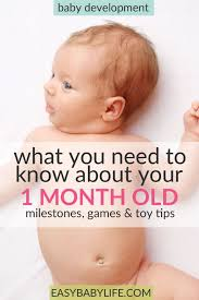 One Month Old Baby Milestone Helpful Guide To Your 1 Month Old Babys Development Milestones