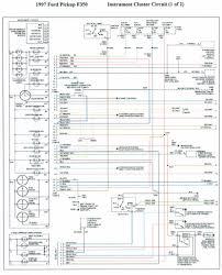 1996 f 350 instrument panal wiring diagram truck forum instrument cluster 1